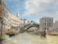 "Hiroyuki Masuyama - ""J.M.W.Turner, The Rialto Bridge from the North 1840"" 2010 
