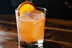 Bourbon, gin and grapefruit, together for your happy hour pleasure.