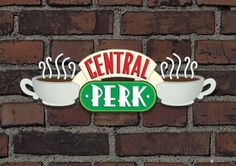Friends (Central Perk Sign) Television Poster Reproduction image originale