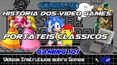 """""""Portáteis Clássicos""""   História dos Videogames #11"""