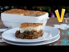 Shepherd's pie - Christmas recipe by The Vegan Corner - YouTube
