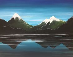 Milford Paint And Sip, Paintings, Mountains, Nature, Travel, Voyage, Trips, Paint, Painting Art