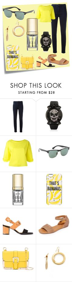 """""""Set for sale"""" by denisee-denisee ❤ liked on Polyvore featuring Post-It, Armani Jeans, Tsumori Chisato, Ray-Ban, Dolce&Gabbana, Kate Spade, Veronique Branquinho, See by Chloé, RED Valentino and Elizabeth and James"""