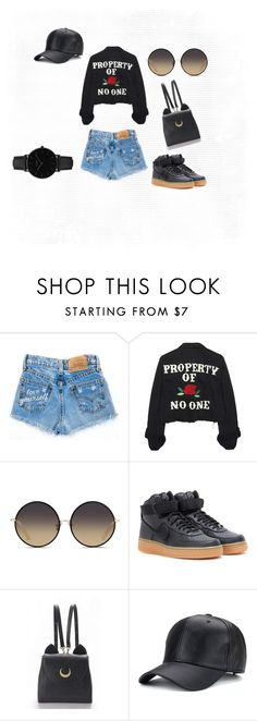 A fashion look from December 2016 featuring distressed denim jackets, denim shorts and nike trainers. Browse and shop related looks. Nike Trainers, Matthew Williamson, Distressed Denim, Denim Shorts, High Heels, Fashion Looks, Polyvore, Jackets, Shopping