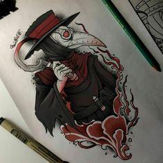 Make a badass tattoo Tattoo Sketches, Tattoo Drawings, Art Sketches, Art Drawings, Arte Horror, Horror Art, Badass Tattoos, Body Art Tattoos, Tattoo Bauch