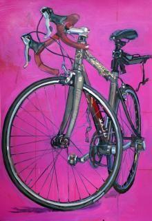 STUDIO 2014 | Bicycle Paintings, Prints and Custom Bike Art Portraits