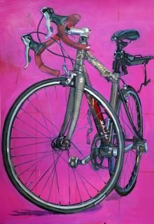 STUDIO 2014 | Bicycle Paintings, Prints and Custom Bike Art Portraits