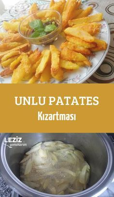 Unlu Patates Kızartması - Load Tutorial and Ideas Potato Recipes, Vegetable Recipes, New Recipes, Russian Recipes, Turkish Recipes, Appetizer Salads, Appetizers, Recipe Mix, Middle Eastern Recipes
