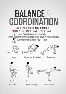 Yoga For Beginners : Balance And Coordination Workout. - All Fitness Parkour Workout, Mma Workout, Gym Workout Tips, Workout Challenge, At Home Workouts, Workout Fitness, Pre Workout Stretches, Workout Board, Workout Belt
