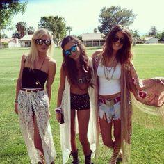 Coachella style.