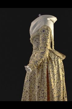 Jacket and petticoat (detail) ca. 1788 From the Gemeentemuseum Den Haag via Europeana Fashion