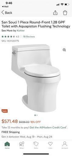 Bathroom Renovations, 1 Piece, 12 Months, Toilet, Flush Toilet, Toilets, Bathroom Remodeling, Toilet Room, Bathrooms