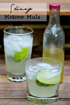 Save calories by making your own ginger syrup to mix with seltzer and vodka for a nice cocktail with about 40% less calories than a traditional Moscow Mule made with ginger beer.