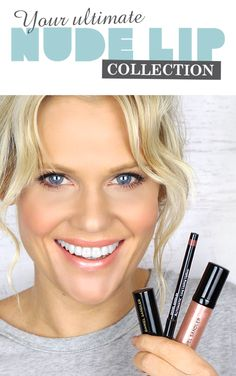Daniel Sandler Nude Trio Collection , Beauty and the Boutique Natural Makeup Look Tutorial, Makeup Looks Tutorial, Natural Makeup Looks, Beauty Secrets, Beauty Hacks, Beauty Tips, Beauty Products, Nude Lip, Healthy Beauty
