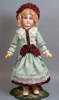 """Evening Attraction 24"""" Adolf Wislizenus """"Special"""" Antique Bisque Doll!!"""
