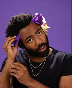 Donald Glover is pretty