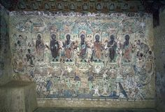Mogao Cave 220 (Early Tang 618-705AD)