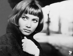 The face of Pola Raksa... The most beautiful Polish actress of all time. Elegance and eyes melting the thickest tank steel :)