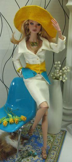 """Poppy in Matisse """"Yacht Club"""""""