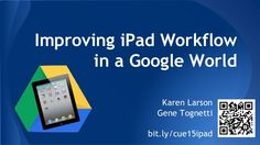 I pads and google by Gene Tognetti via slideshare