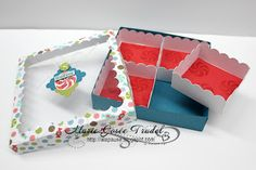 Boîte à bonbons Délices craquants par Marie-Josée Trudel, démo Stampin' Up!