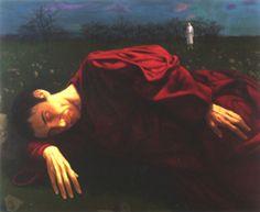Michel Ciry - the solitude of Jesus, 1991