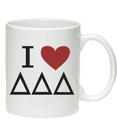 Delta Shop - I Love DDD Mug