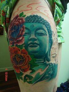 Yang Zhuo Buddha tattoo