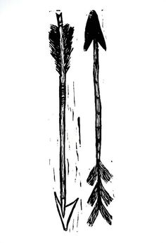 arrow art - not sure why I love arrows so much but I do!