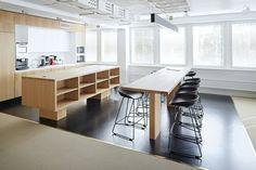 SLS - Snellmaninkatu — KOKO3 Office Environment, Workplace Design, News Space, Helsinki, Contemporary, Modern, Furniture Design, Flooring, Workspaces