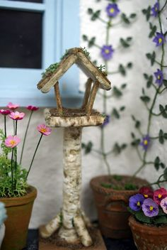 bird table for the garden