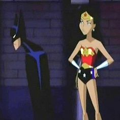 Justice League Animation - Kid's Stuff - Batman sulking over being saved by Wonder Woman Batman Love, Batman Wonder Woman, Lego Batman, Kids Batman, Justice League Animated, Batman Begins, Dc Legends Of Tomorrow, Pet Peeves, Young Justice