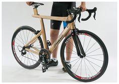 Alwin - Wooden Aero Road Bike by Joseph Farmer, via Behance