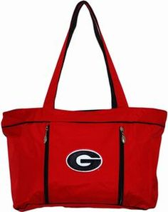 Georgia Bulldogs Baby Diaper Bag