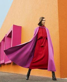 Cyber Monday, Sebastian Kim, Valentino Rossi, Valentino Garavani, Harpers Bazaar, Colorful Fashion, Designer Collection, Editorial Fashion, Magazine Editorial