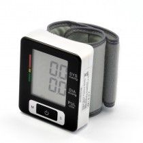 Automatic Wrist Blood Pressure Monitor - LCD Display, Dual User Mode
