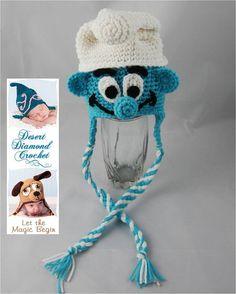 Boy Blue Gnome Hat - Any Size. $30.00, via Etsy.