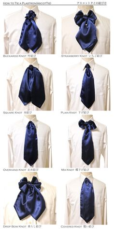 How to Tie a Ascot Tie , Plastron - Emmit Cool Outfits, Fashion Outfits, Womens Fashion, Fashion Tips, Fashion Design, Victorian Fashion, Vintage Fashion, 70s Fashion, Ascot Ties
