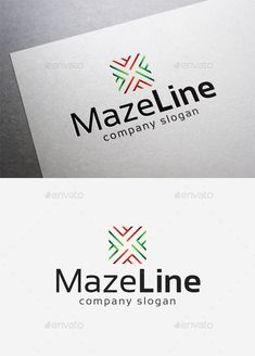 Maze Line  Logo Design Template Vector #logotype Download it here: http://graphicriver.net/item/maze-line-logo/10192830?s_rank=1608?ref=nesto