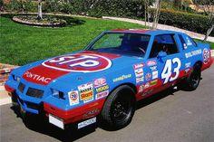 Nascar Race Cars, Old Race Cars, Richard Petty, King Richard, Transportation Technology, Chevrolet Monte Carlo, Pontiac Grand Prix, Barrett Jackson Auction, Collector Cars