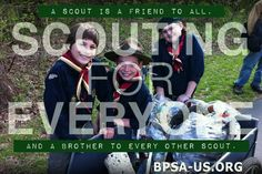 "BPSA's ""Scouting for Everyone"" sharable illustrates that our organization is open & inclusive."