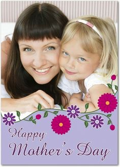 Flower Garland - Mother's Day Greeting Cards in Iris | Magnolia Press