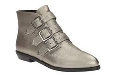 Stanhope Ankle, Metallic Leather, Womens Casual Boots