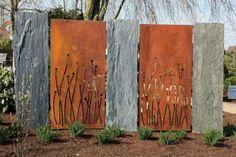 Design Jardins, Paysagiste Designer Brise-vues Corten | Design Jardins, Paysagiste Designer