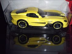 HOT WHEELS 2017  THEN NOW # 10/10  2013 ST3 VIPER  (YELLOW) #HotWheels #Dodge