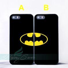 838f867c71d Superhero Batman Best Friend BFF Couple Case for iPhone 7 6 SE 5 4 7 Plus  Case for iPod Touch 6 iPod Touch 5 Cover.