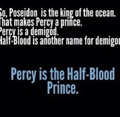 Well. ah, Trident is the King of the Sea, so Percy is brother to the king...does that still make him a prince?