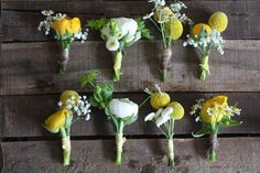 Google Image Result for http://passionforflowers.net/blog/wp-content/uploads/2013/05/yellow-button-holes-with-twine-2.jpg