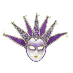 Masque vénitien joker visage