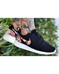 Nike Roshe Run Mesh Black Floral For Men and Women | roshe run